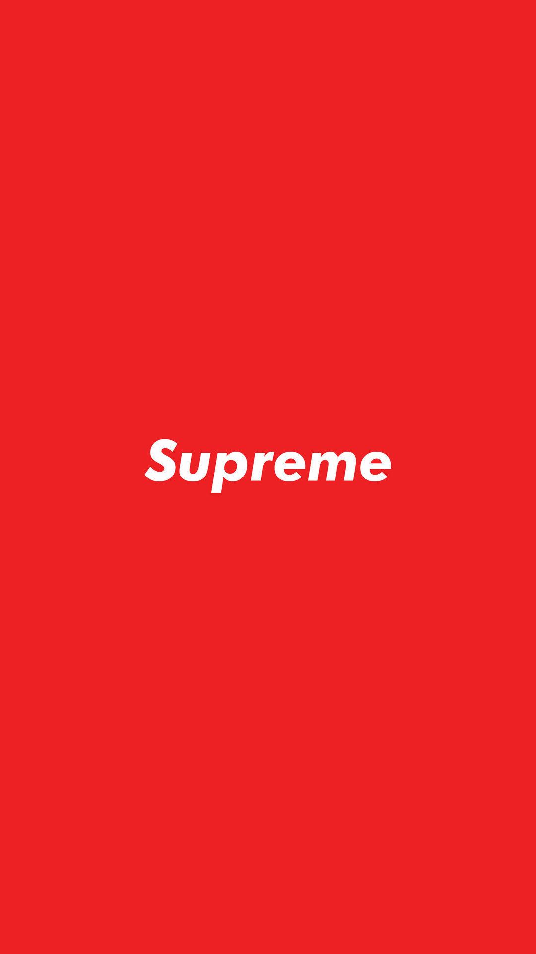 supreme box logo wallpaper iphone