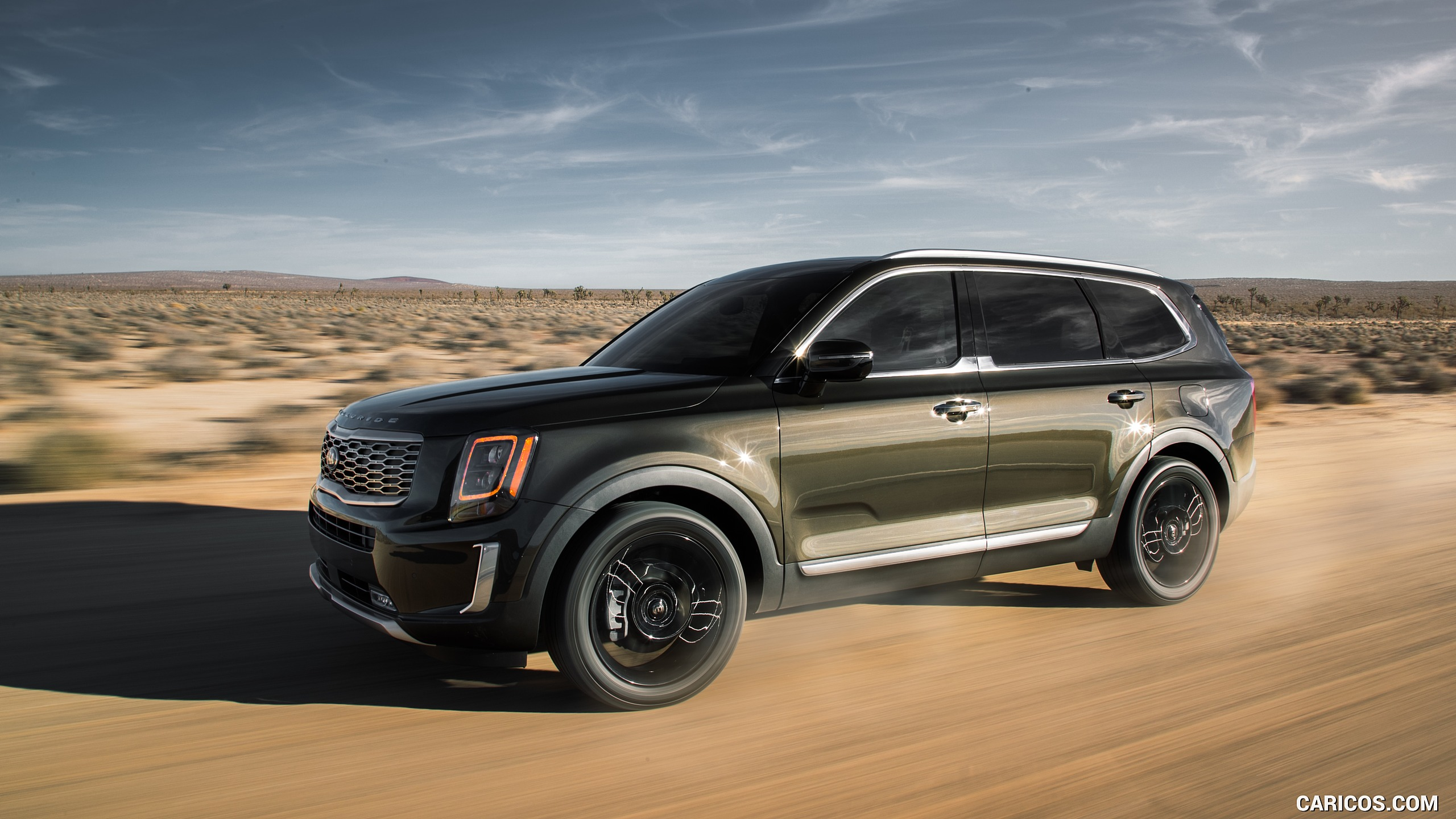 2020 Kia Telluride   Front Three Quarter HD Wallpaper 1 2560x1440
