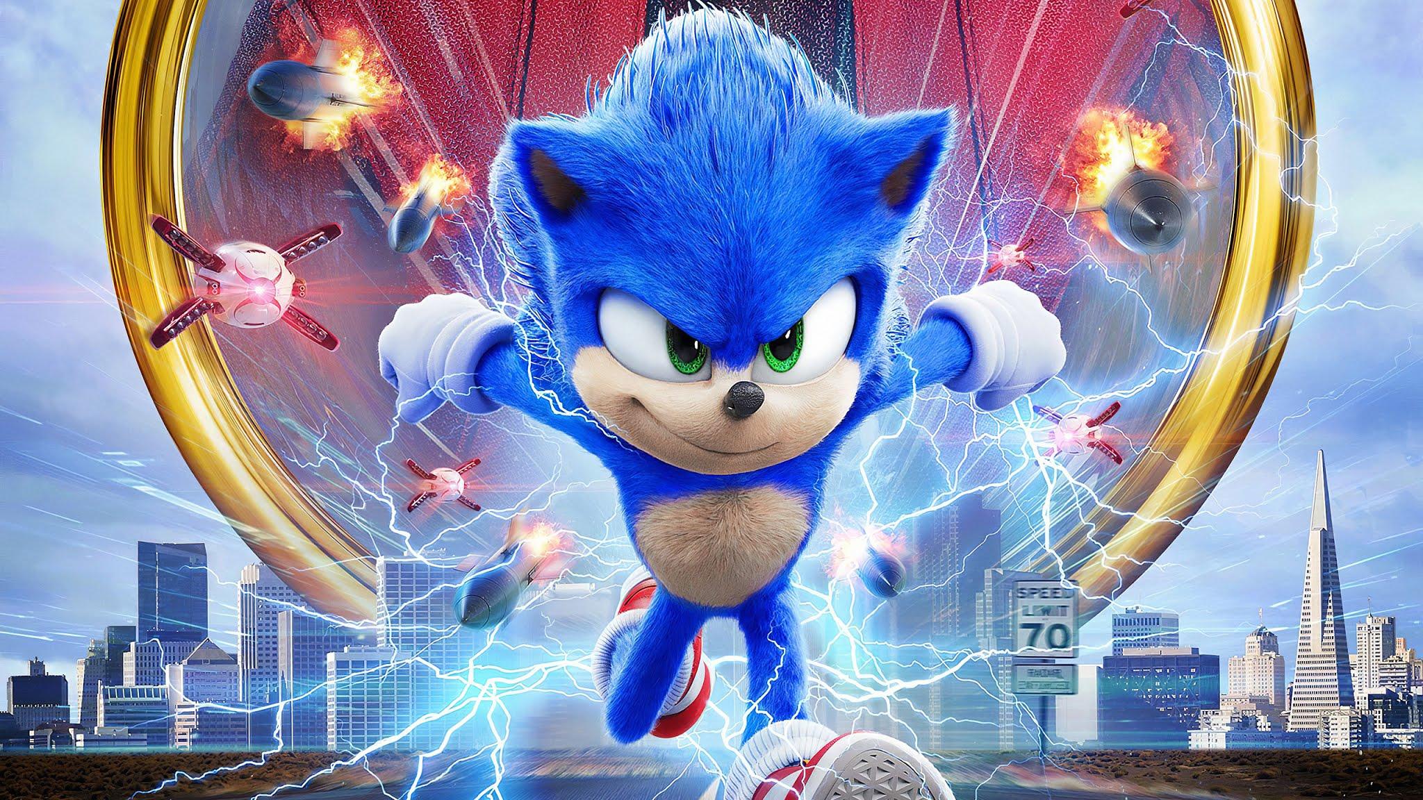 Sonic The Hedgehog 2020 Movie 2048x1152