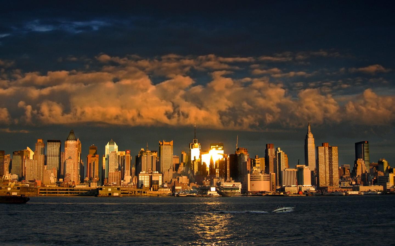 New York City Skyline Wallpaper 4k Wide Screen Wallpaper 1440x900