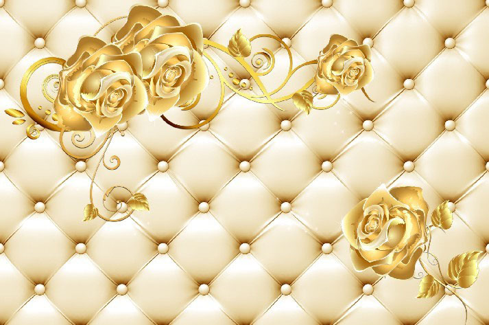 Download Gold Rose Wallpaper Gallery 713x473