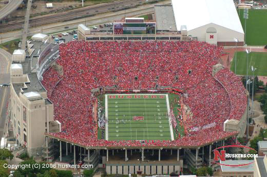 Nebraska Football Stadium Photo of memorial stadium 520x346