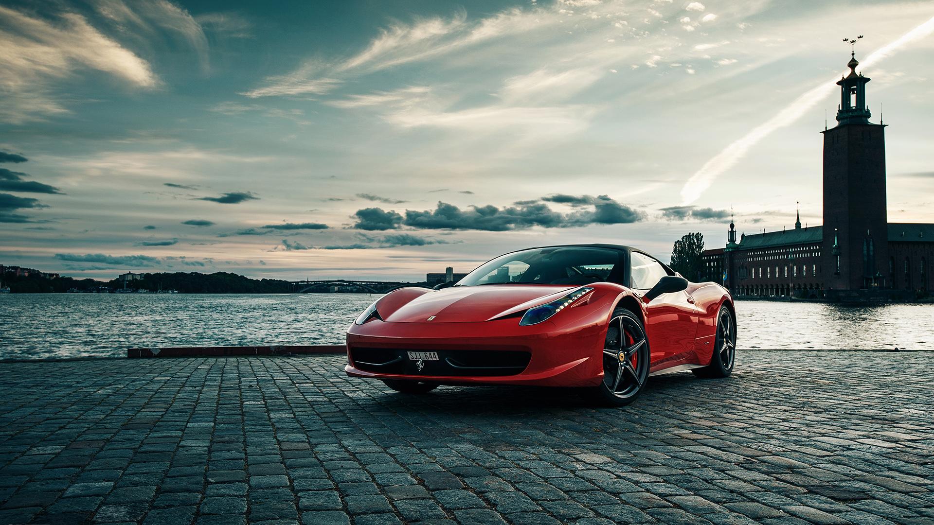Ferrari 458 Italia Hd Wallpaper Wallpapersafari