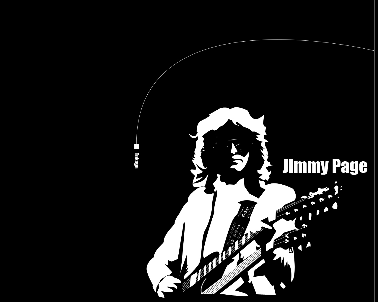 Jimmy Page WallPaper by tokage55 1280x1024