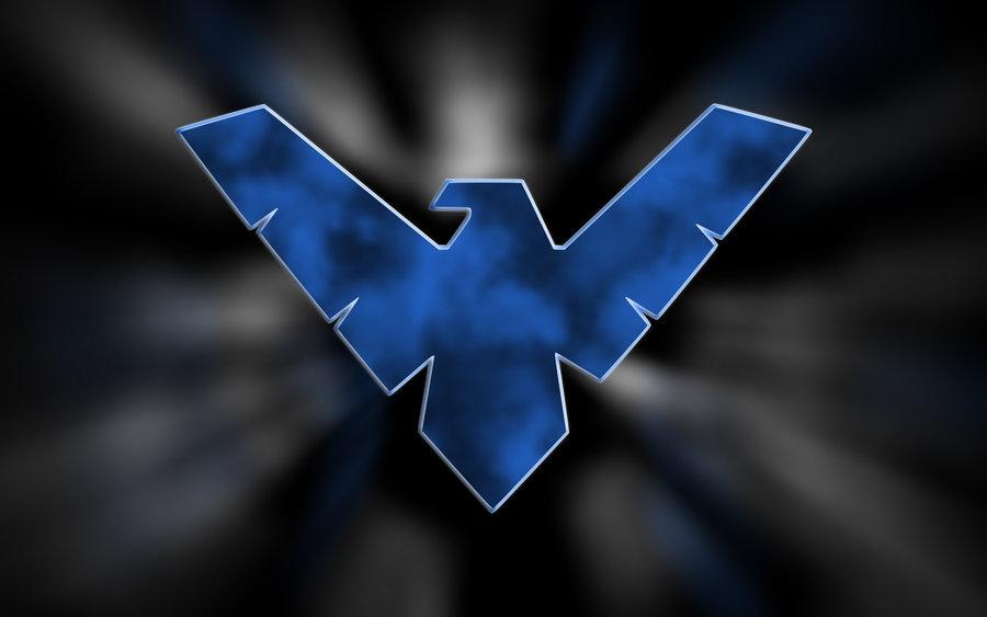 Nightwing Logo Wallpaper 900x563