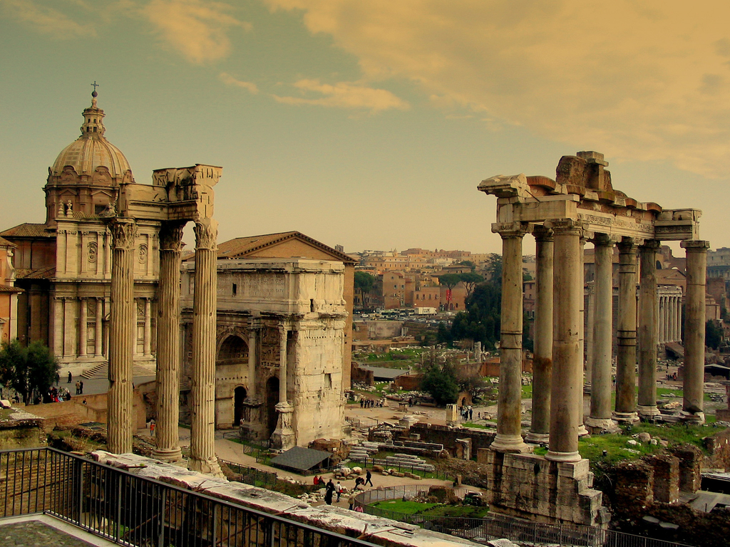 Free Download Ancient Roman Forum Wallpaper Travel Hd