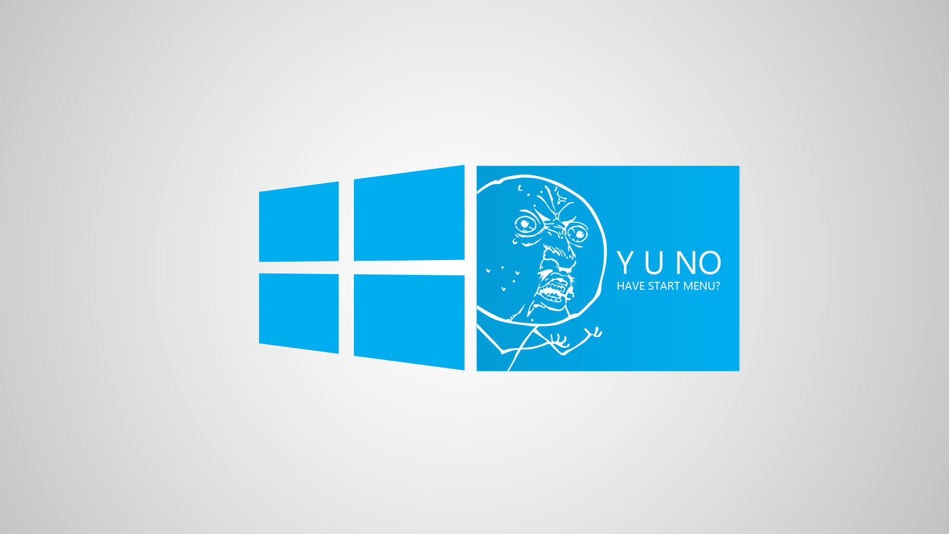 Download Funny Blue Windows 8 Meme Wallpaper Wallpapers 1920x1080