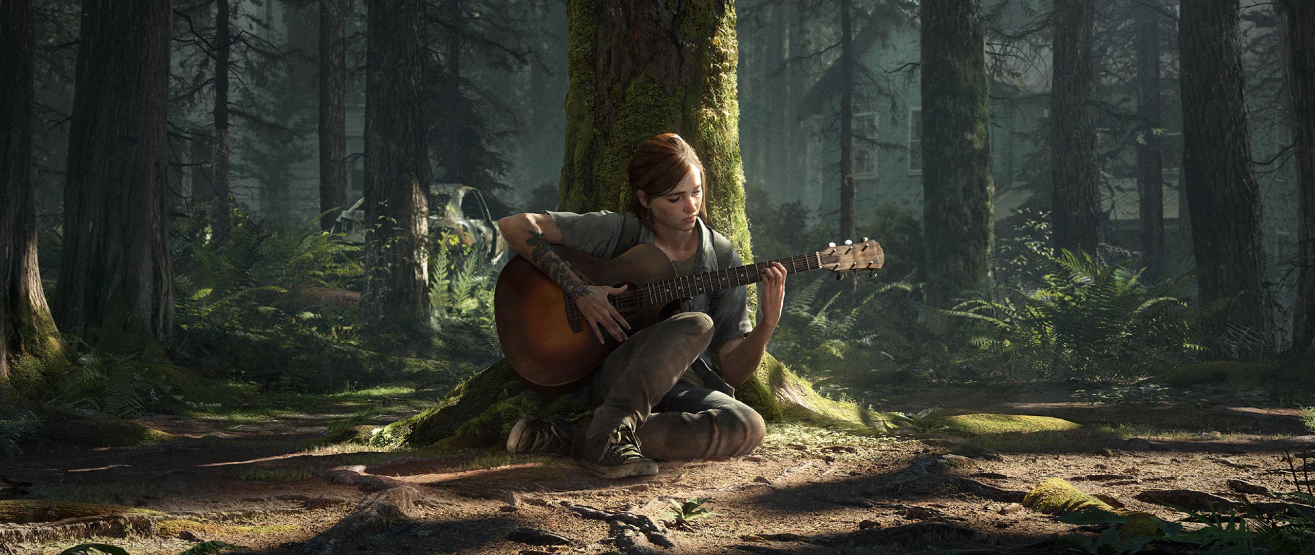 2560x1080 Ellie The Last of Us 2 2560x1080 Resolution Wallpaper 2560x1080