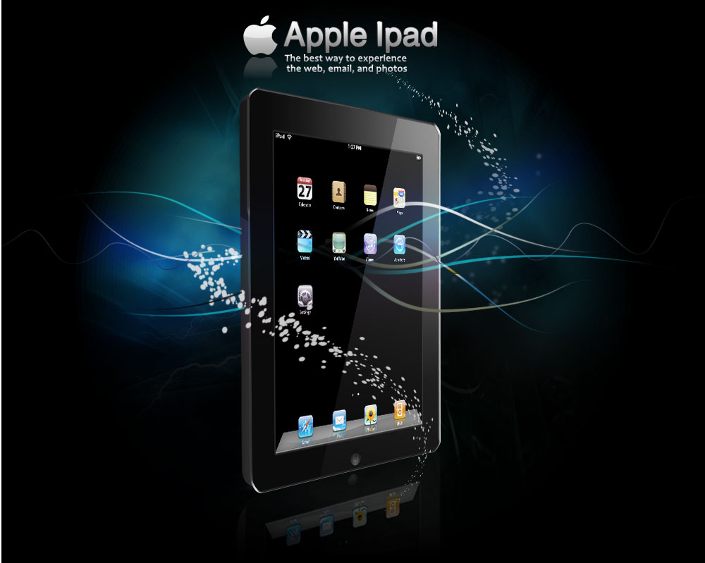 wallpapers arround the jun ipad its many features of beta quality ipad 1000x799