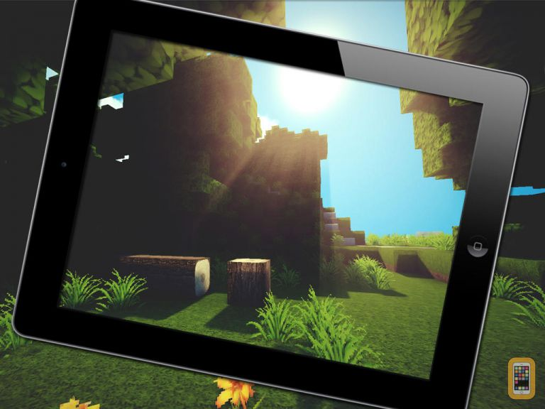 of Minecraft wallpapers   HD for iPad   App Info Stats iOSnoops 768x576