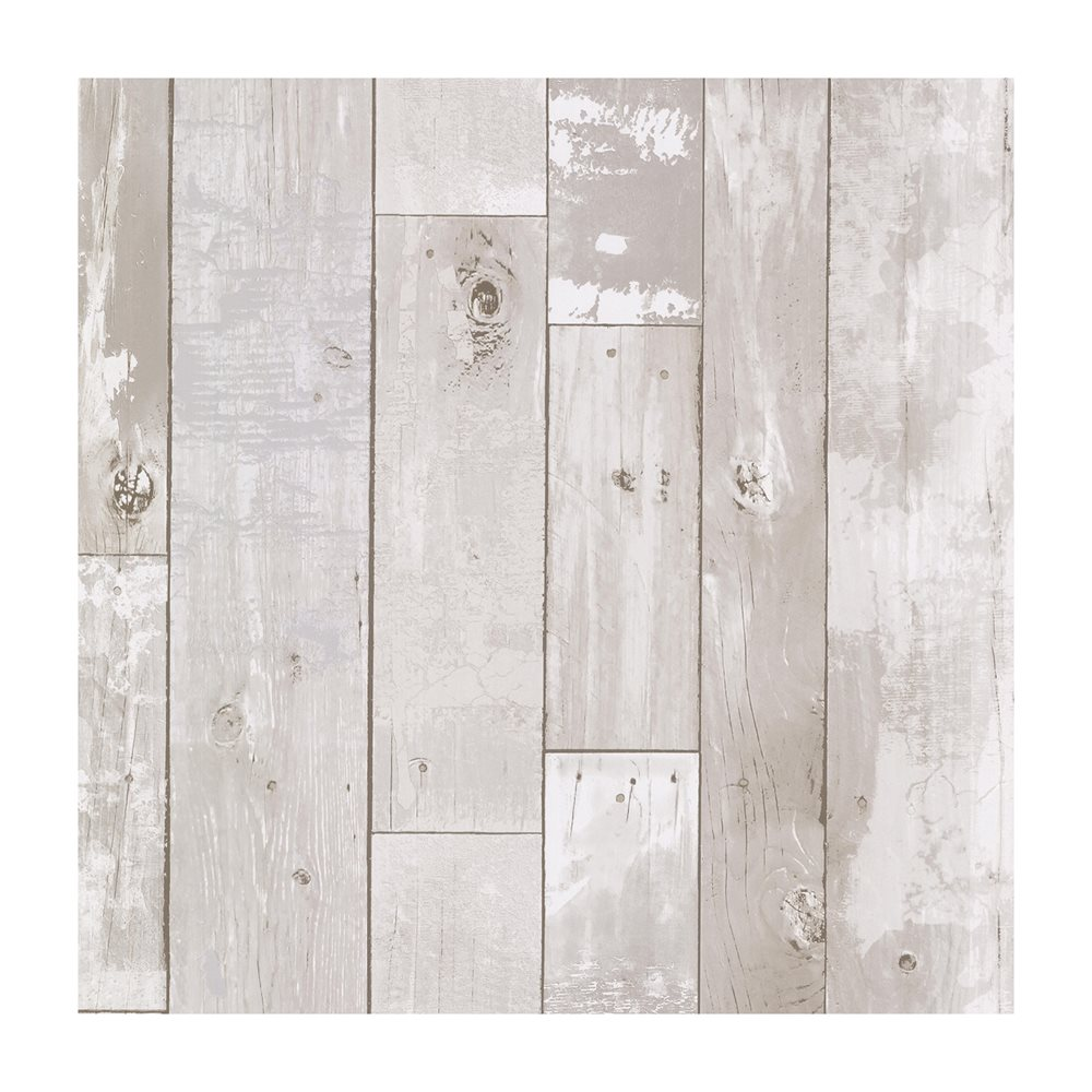Heim White Distressed Wood Panel Wallpaper Lowes Canada X