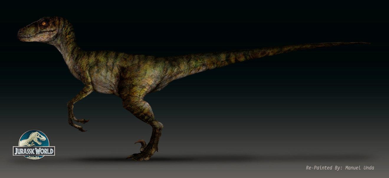 JURASSIC WORLD Velociraptor By MANUSAURIO 1319x605