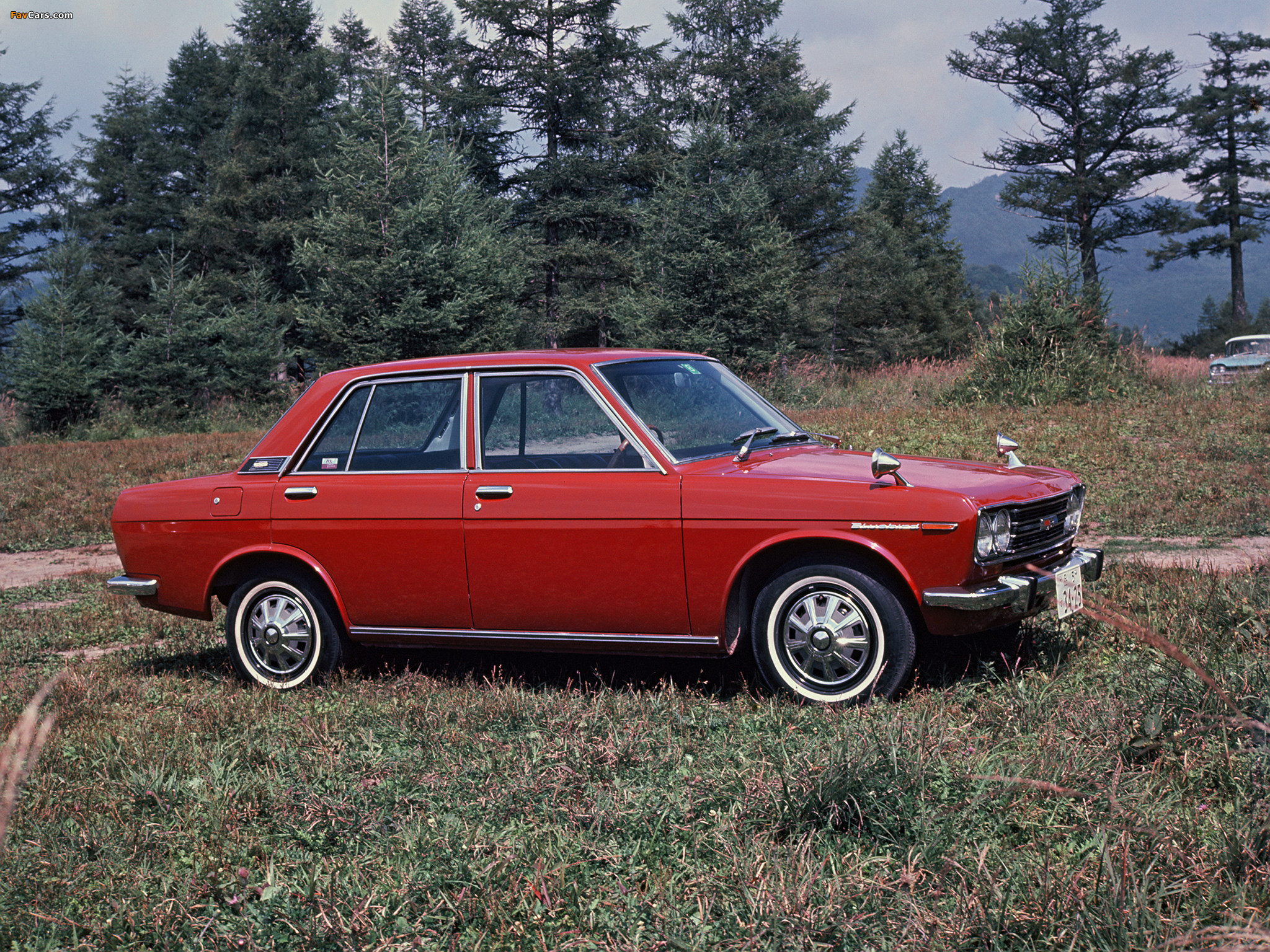 Datsun 510 Wallpaper 2048x1536