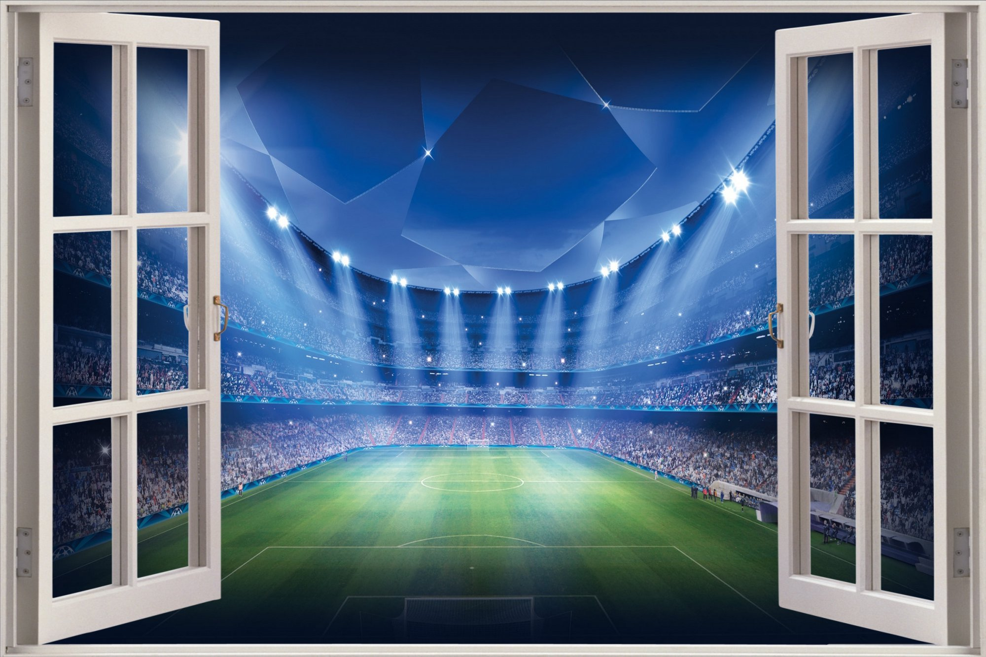 Football Wall Mural Football Stadium Photo Wallpaper Boys: [46+] Football Field Wallpaper For Home On WallpaperSafari