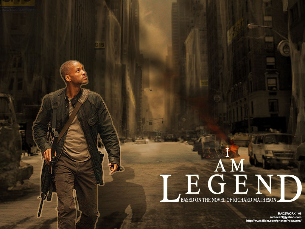 Am Legend   I Am Legend Wallpaper 6452646 1024x768