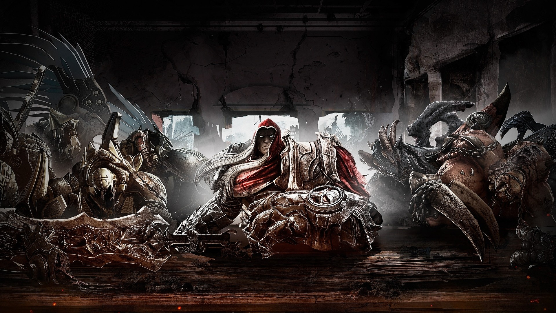 Fantasy Darksiders Wallpaper 1920x1080 Fantasy Darksiders 1920x1080