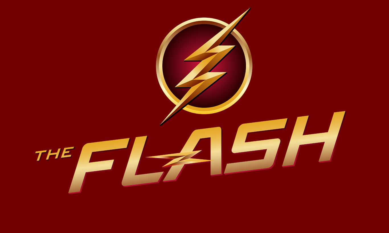 The Flash Logo Top quality wallpapers 1366x817