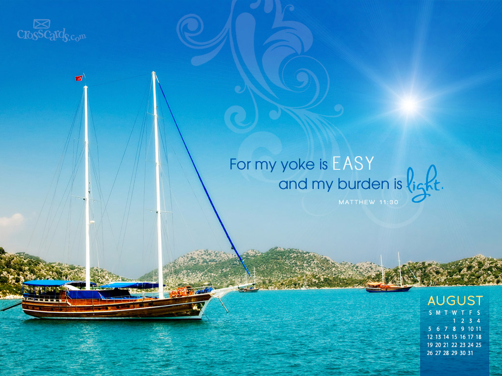 2012   Light Burden Desktop Calendar  Monthly Calendars Wallpaper 1024x768