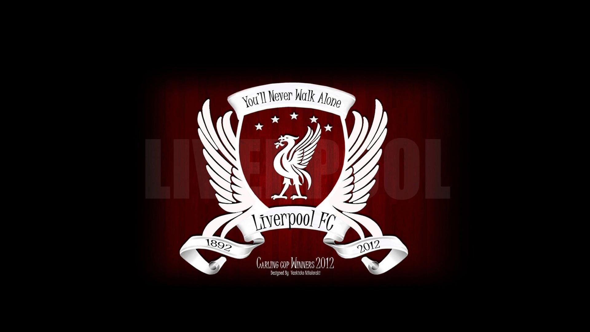 Liverpool Football Logo HD Wallpaper of Football 1920x1080