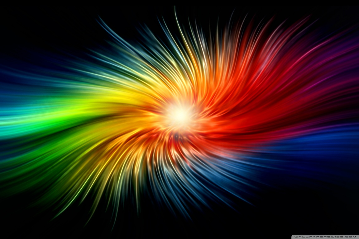Colors Splash 4K HD Desktop Wallpaper for 4K Ultra HD TV Wide 1152x768