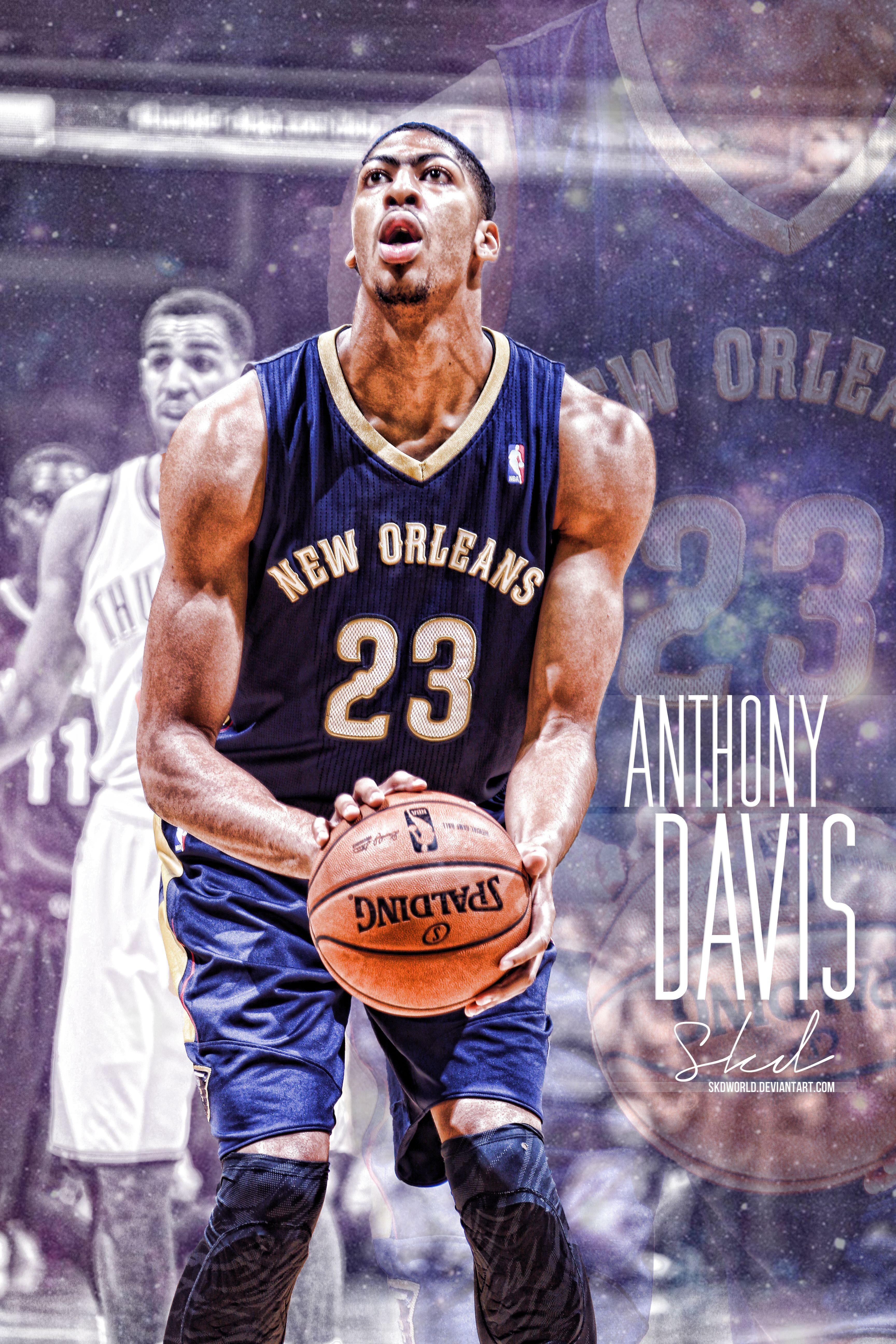 Anthony Davis Wallpapers  basket Anthony davis 3456x5184