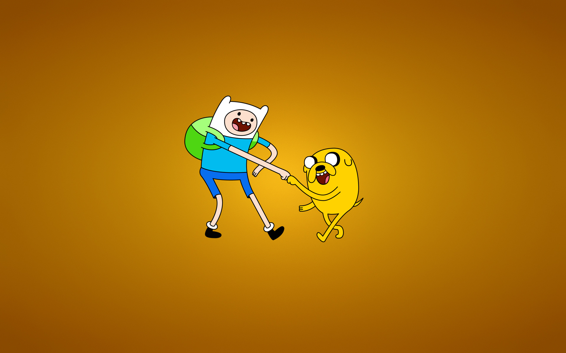 Wallpaper adventure time with finn and jake wallpapers minimalism 1920x1200