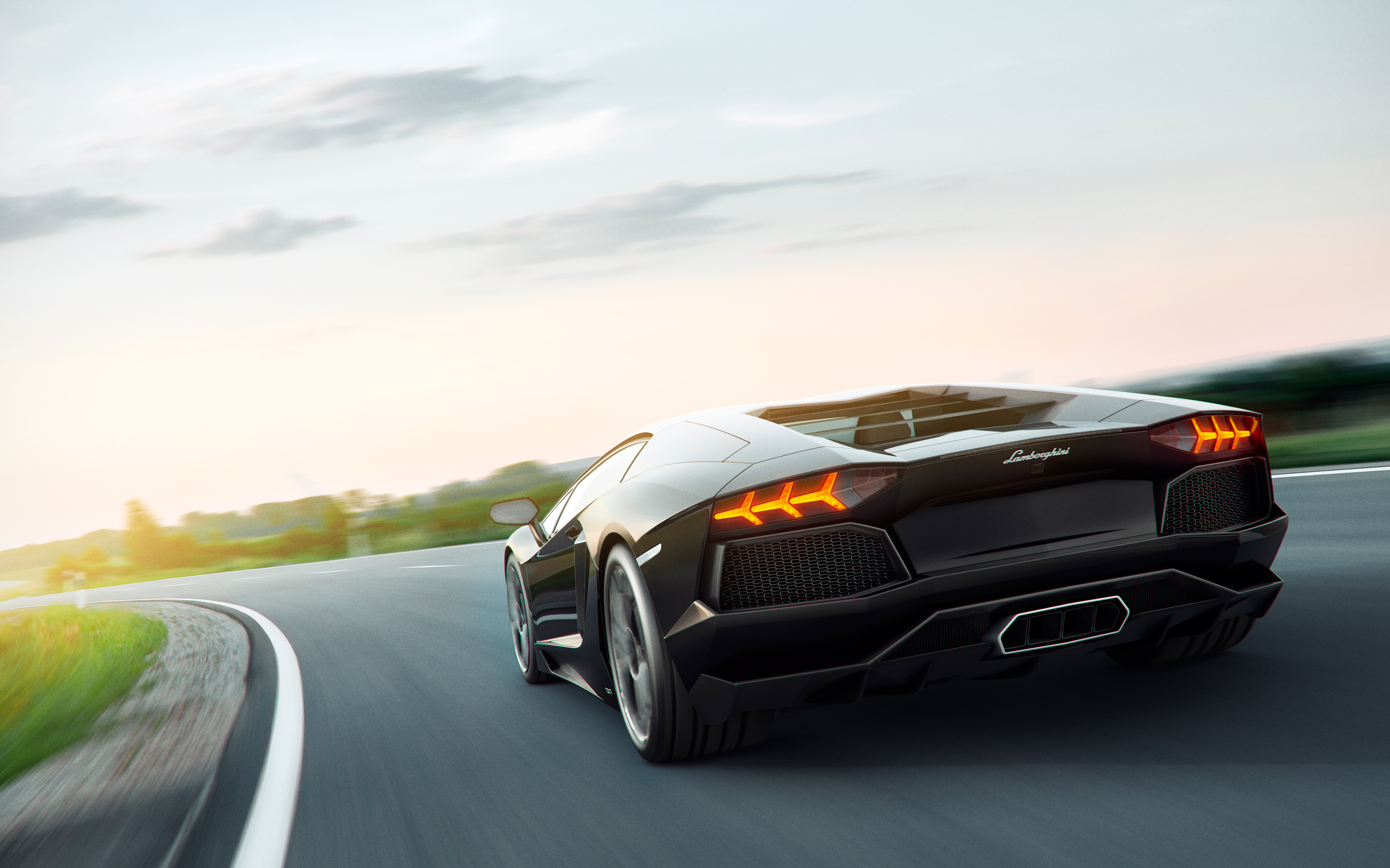 Lamborghini Aventador Art Wallpapers HD Wallpapers 2880x1800