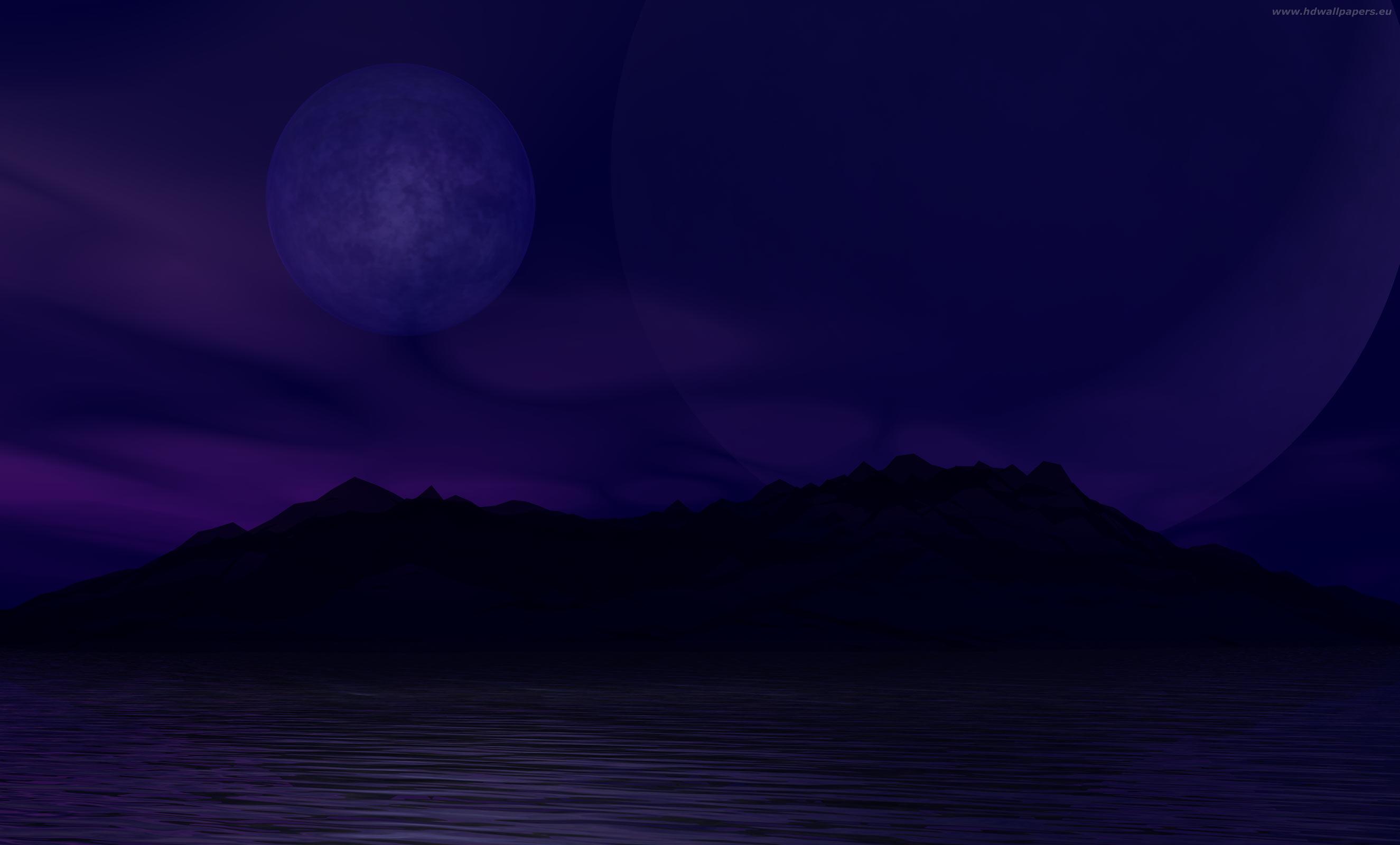 dark blue wallpaper 2650x1600