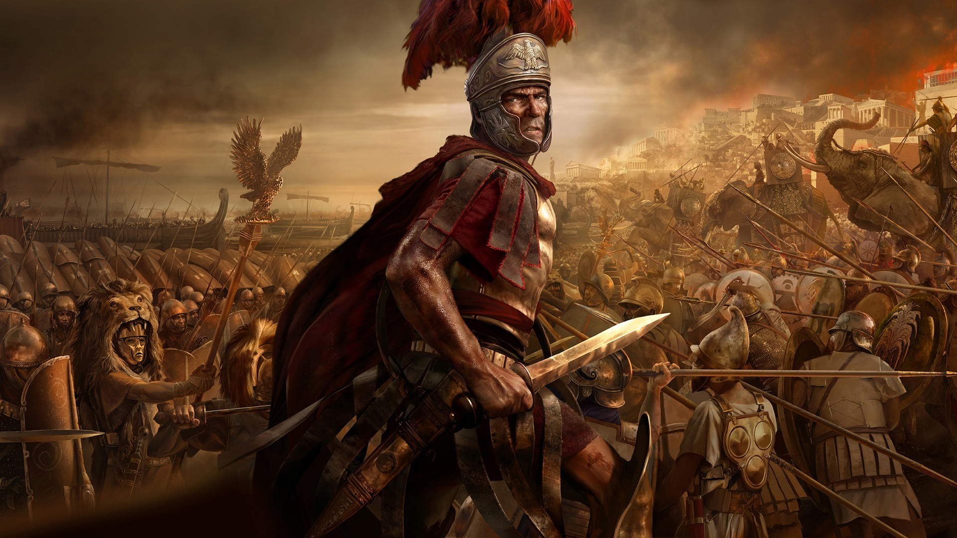 the main plan of attack for the romans