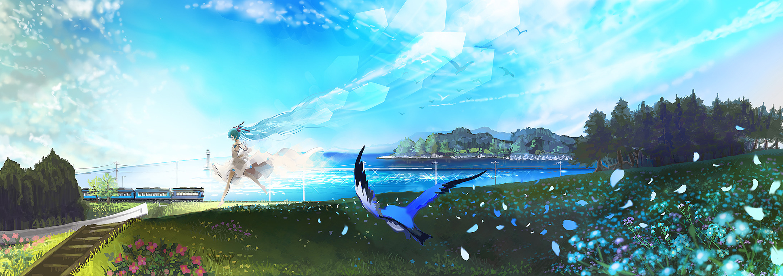 Anime Scenery Wallpaper Wallpapersafari