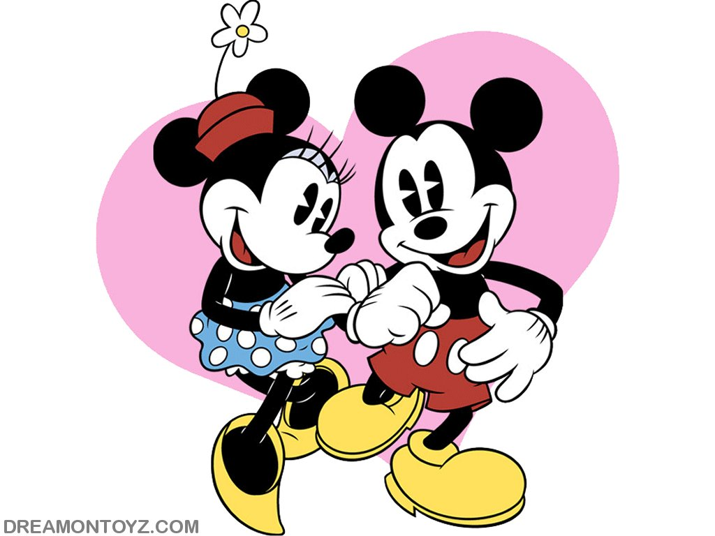 50 Free Mickey And Minnie Wallpaper On Wallpapersafari