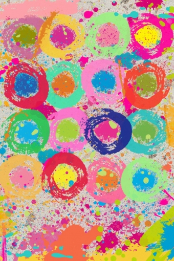 Colorful artsy paint iPhone HD Wallpaper iPhone HD Wallpaper download 340x510
