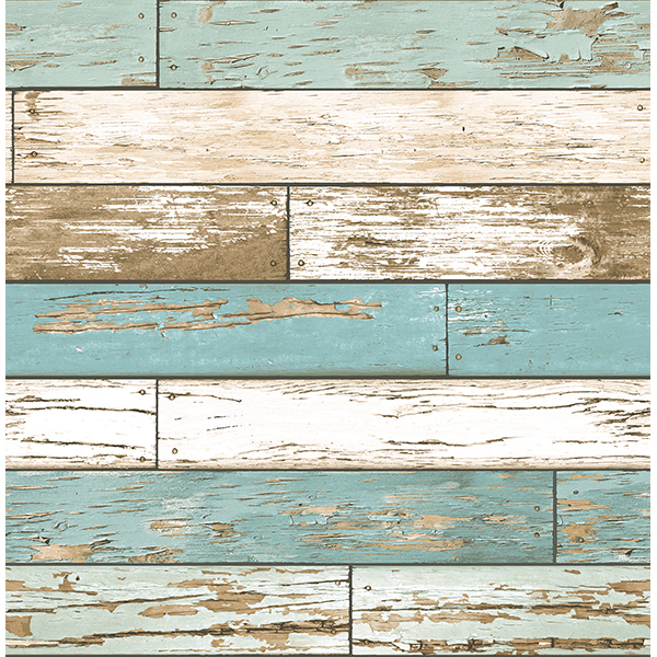 Weathered Texture Turquoise Scrap Wood   Wallpaper by A   Streets 600x600