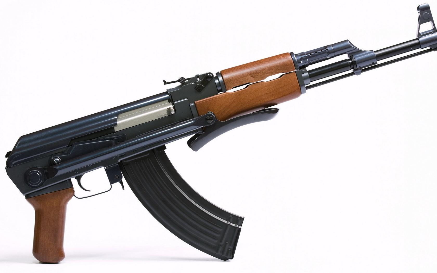 Pulpit Kaasznikowa karabin ak 47 broni du 1680x1050 Zdjcia 1680x1050