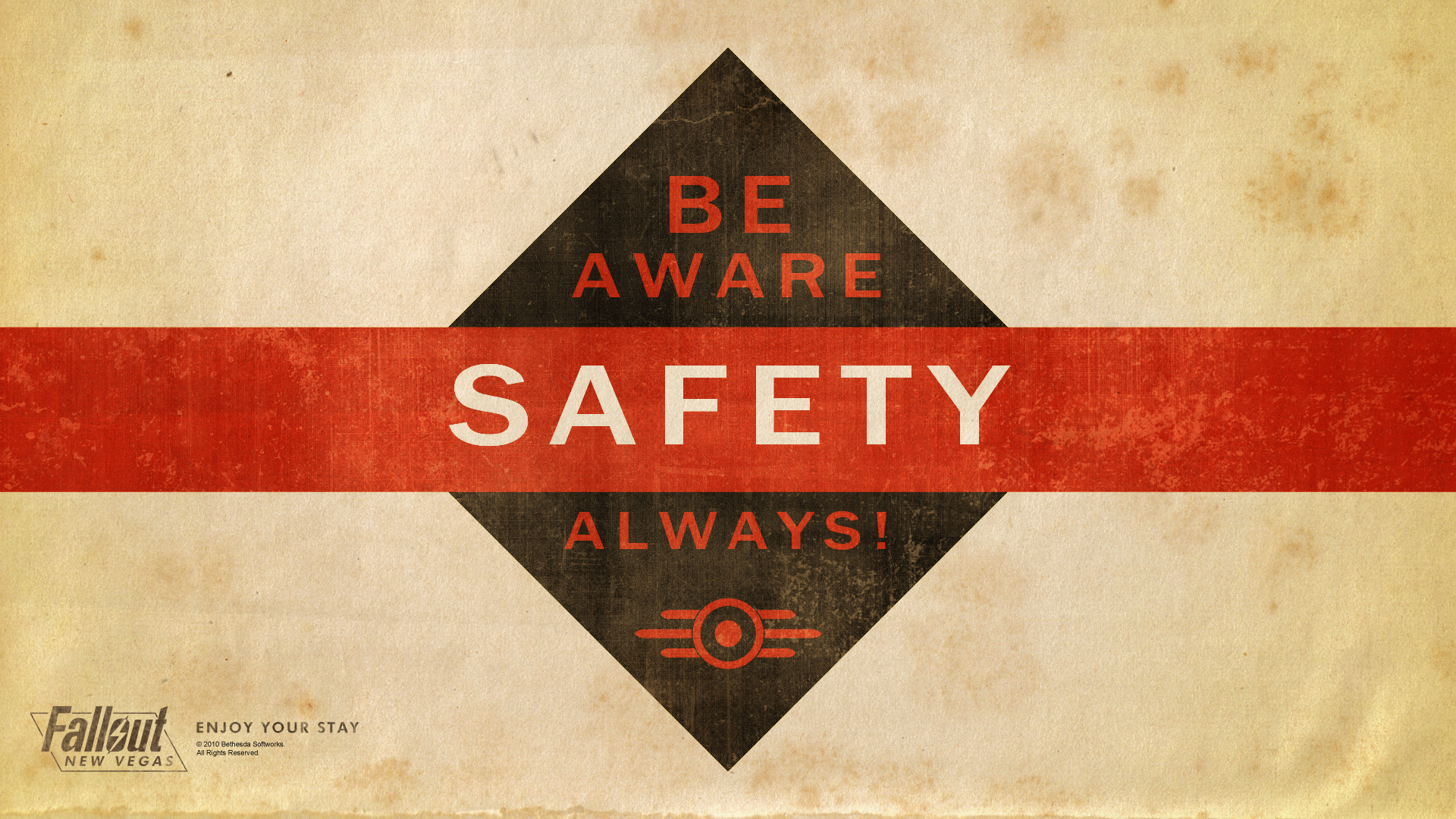 Fallout Safety wallpaper background 1920x1080