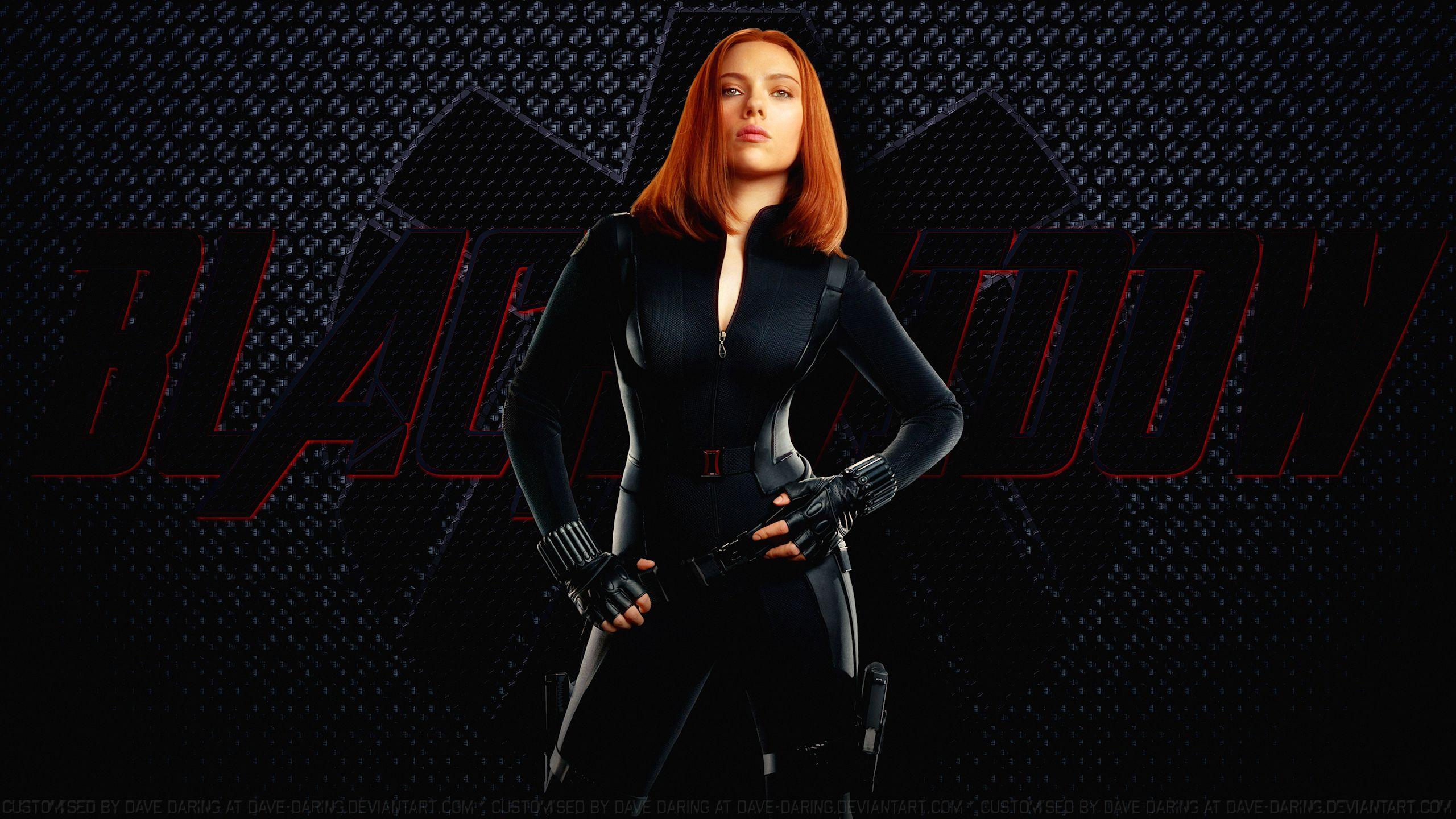 Black Widow by BlackBatFan 2560x1440