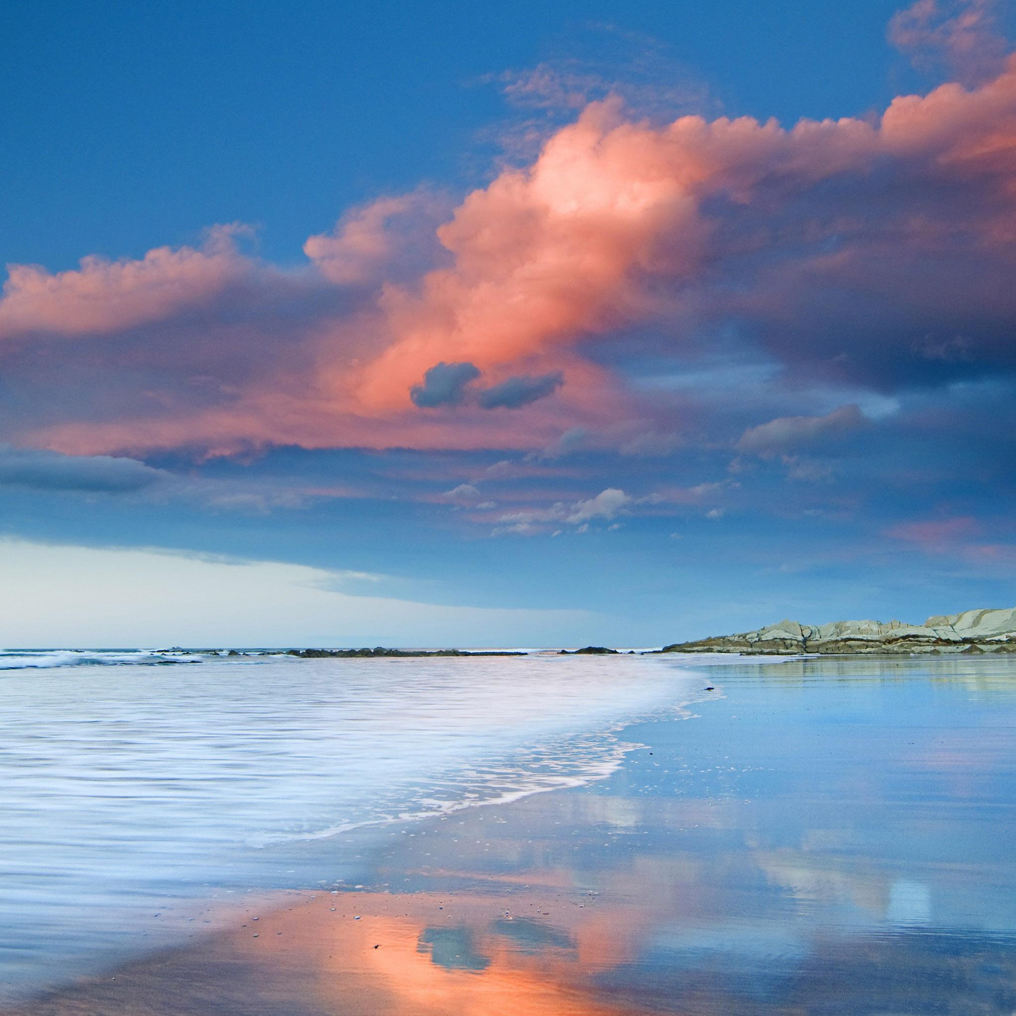 Beautiful smooth beach iPad Air Wallpaper Download iPhone Wallpapers 2048x2048