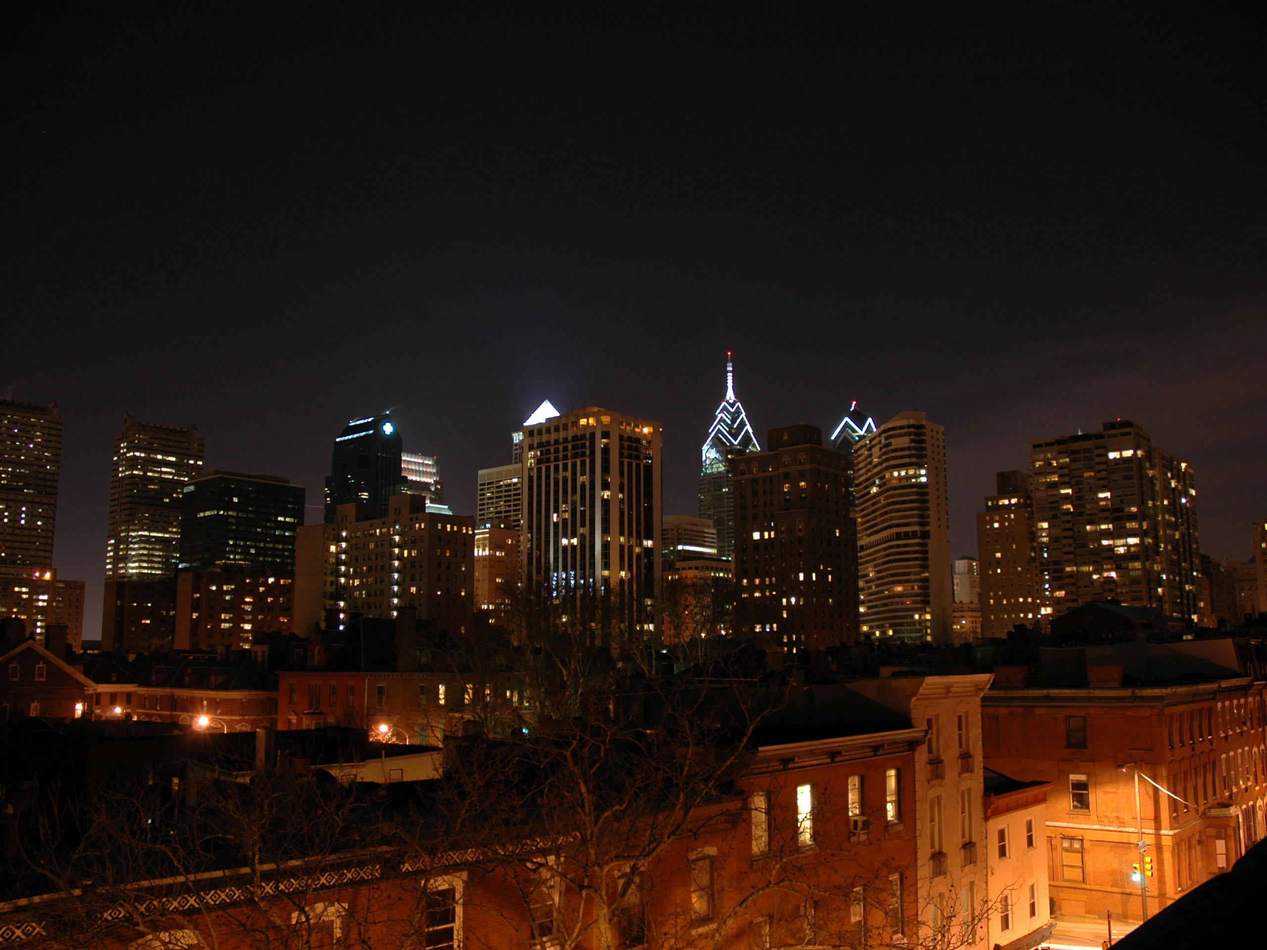 Philadelphia Skyline Desktop Wallpaper 1 2560x1920