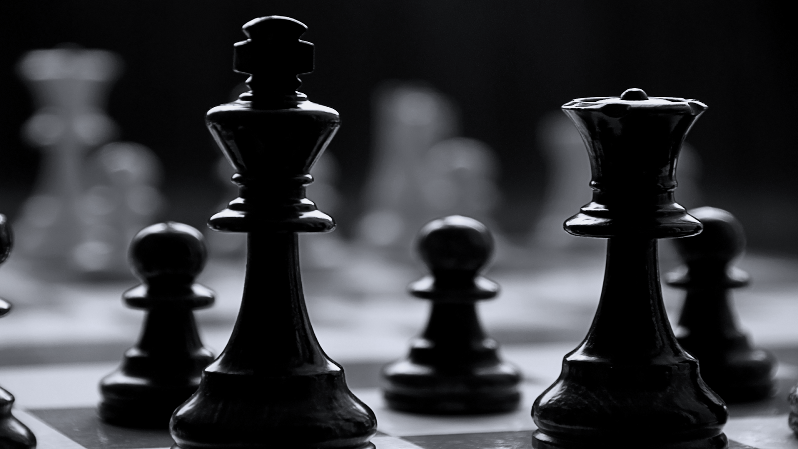 Chess Pawn Wallpaper Desktop Background Wy2 Awesomeness Black 1600x900