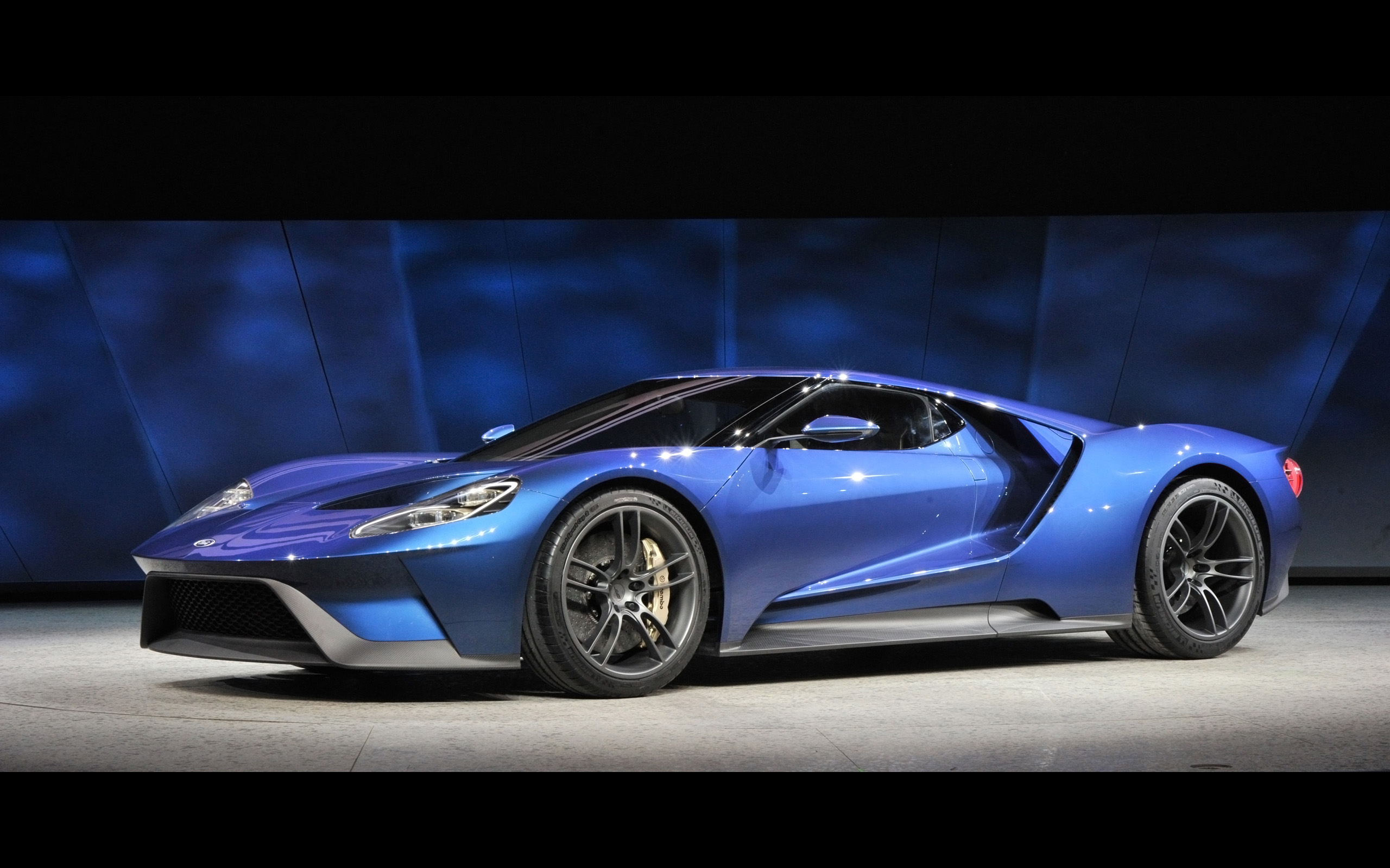 2016 Ford GT   NAIAS Debut   1   2560x1600   Wallpaper 2560x1600