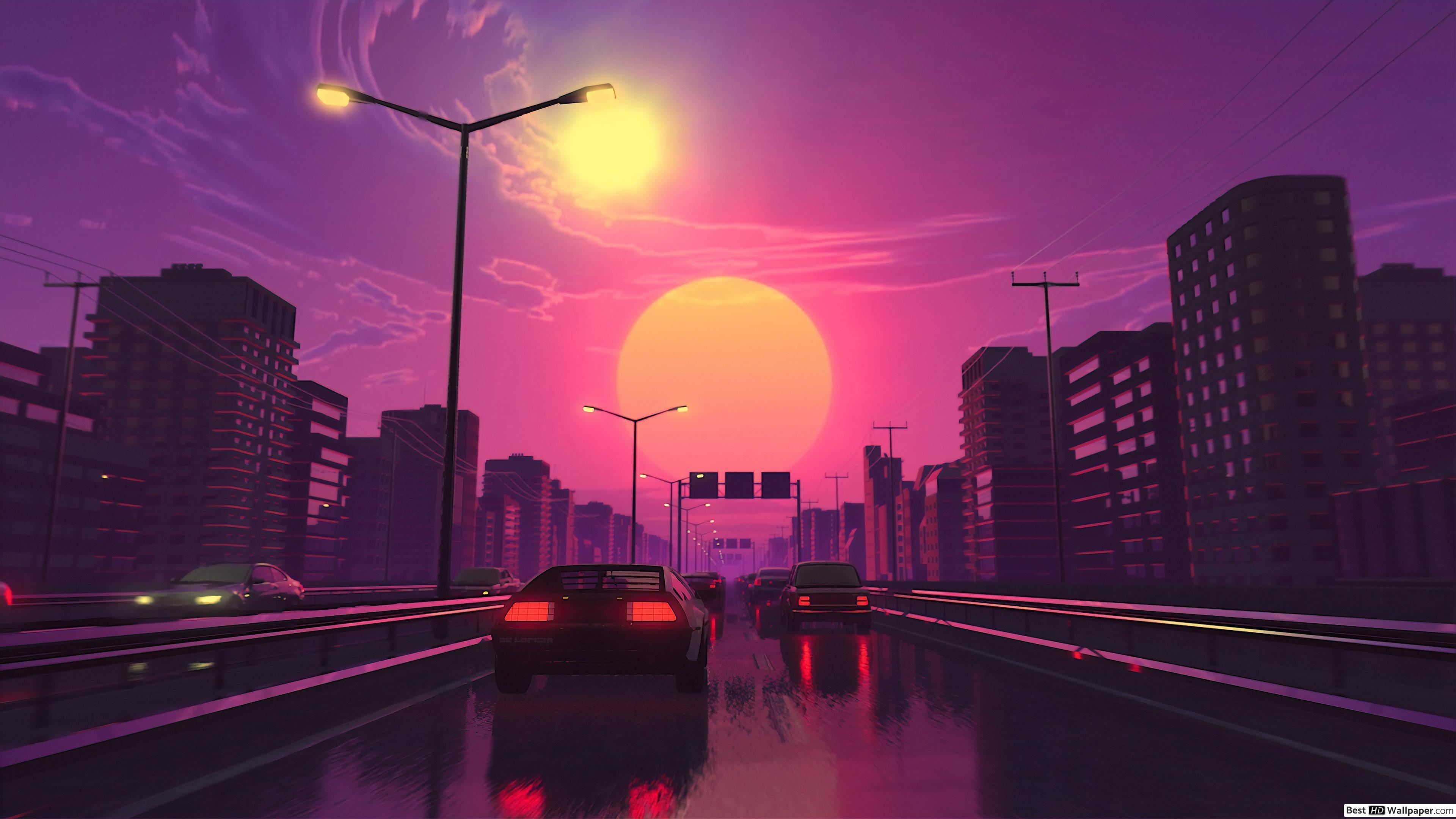 Retro City Wallpapers   Top Retro City Backgrounds 3840x2160