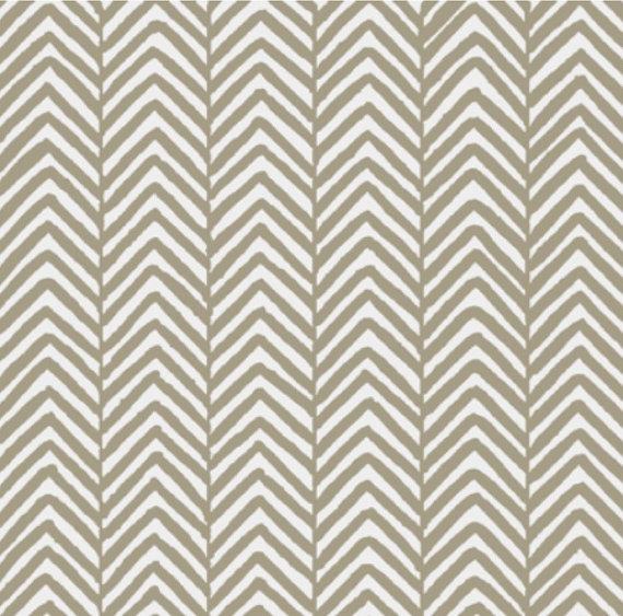 Removable Wallpaper   Modern Herringbone Chevron Print   Khaki on Etsy 570x563
