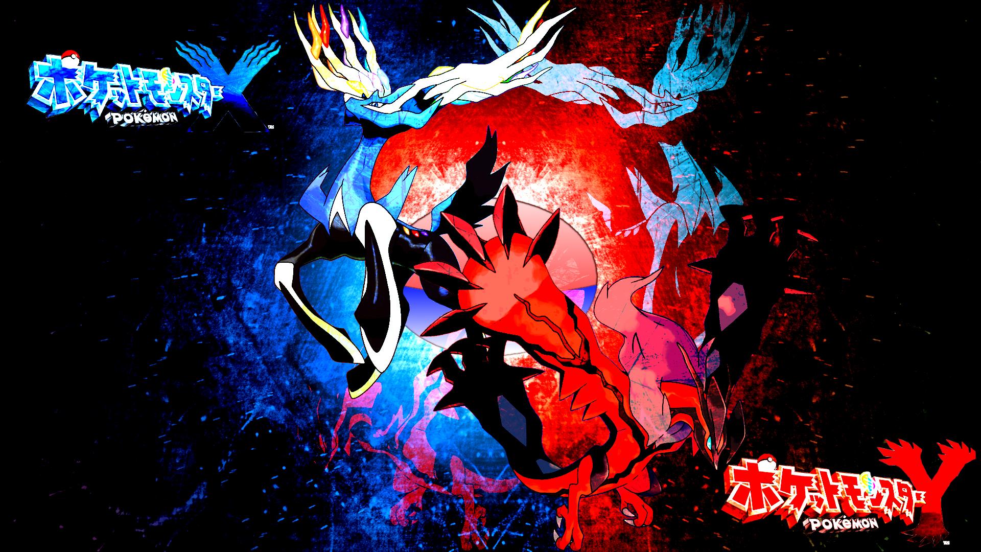Pics Photos   Pokemon X And Y Legendaries Wallpaper 1920x1080