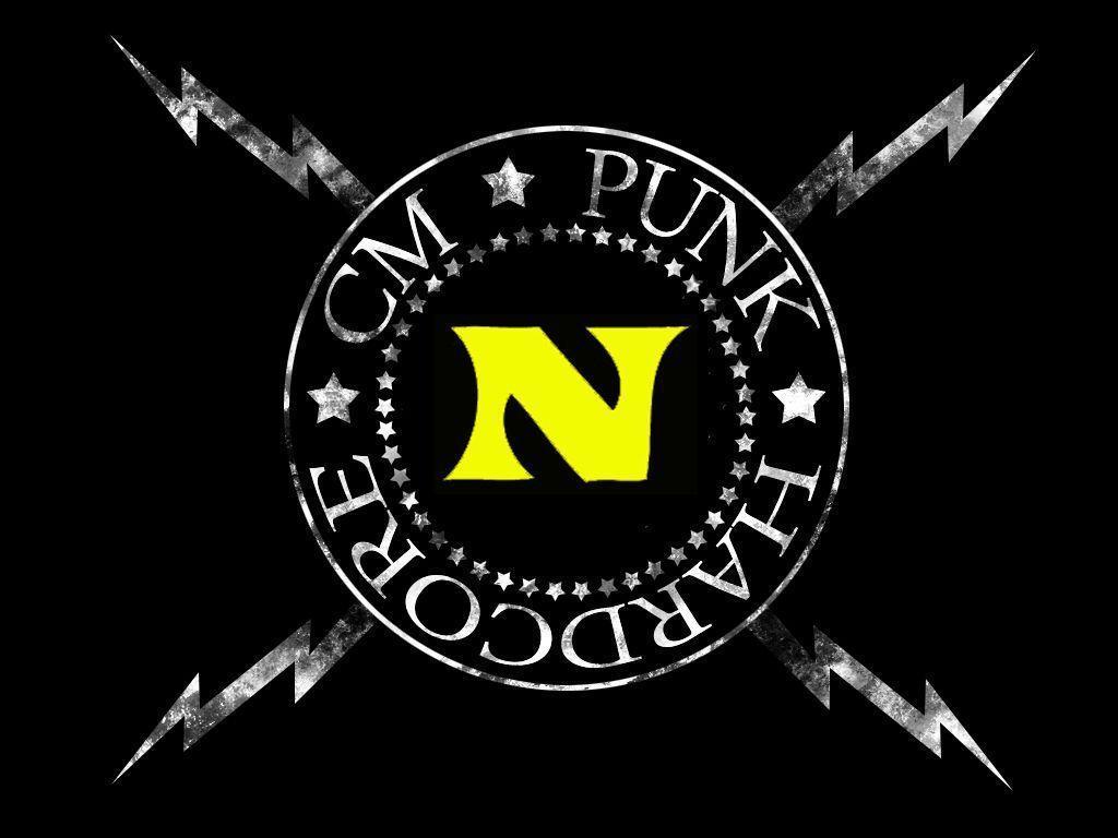 CM Punk Logo Wallpapers 1024x768