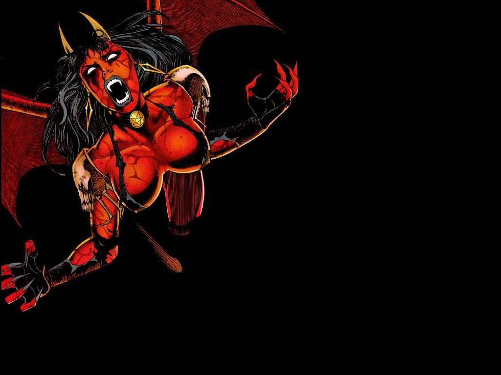 Bonewallpaper   Best desktop HD Wallpapers Devil Desktop 1024x768