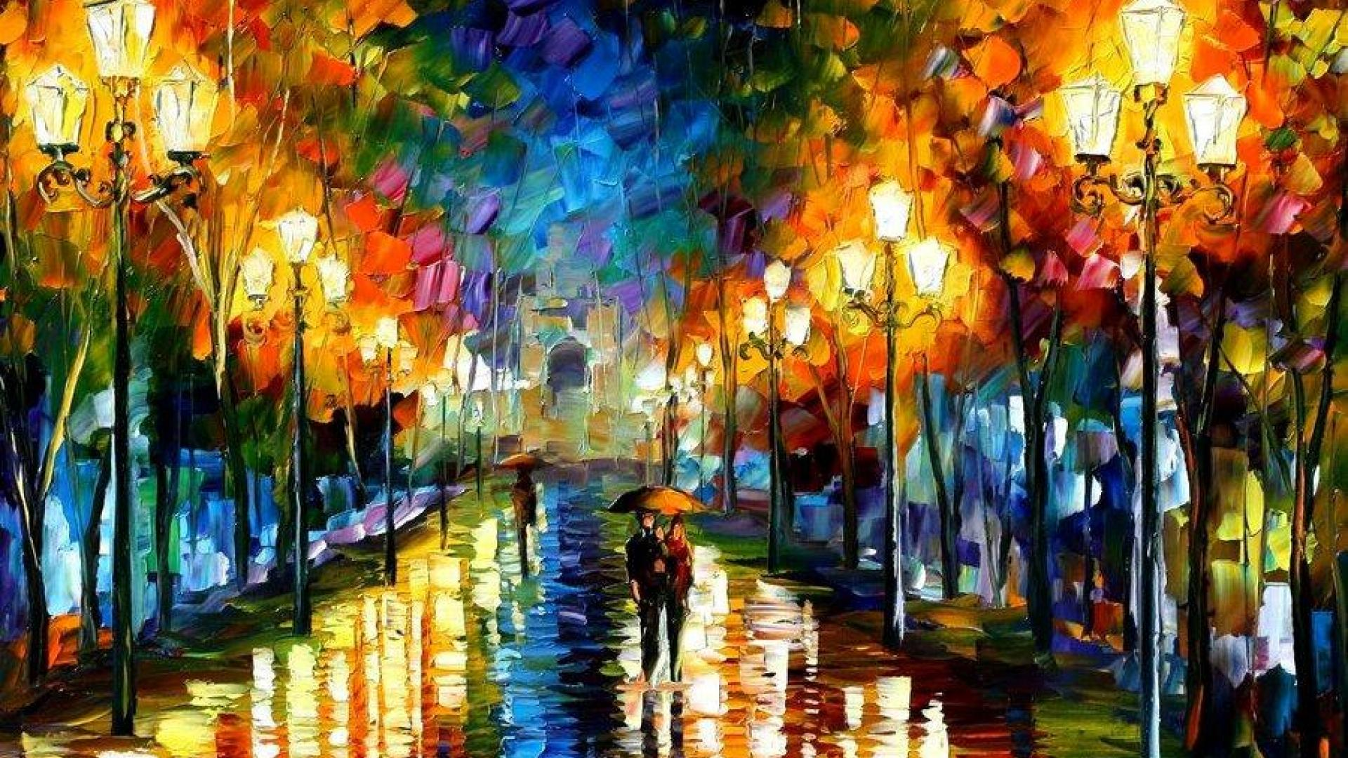 23 Best HD Leonid Afremov Wallpapers 1920x1080