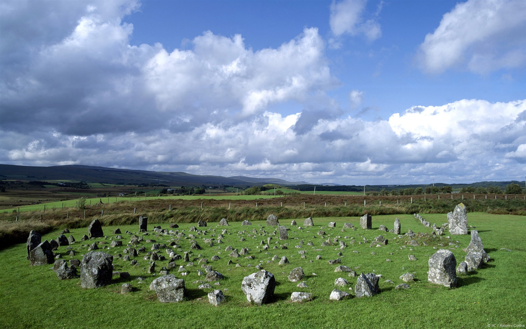 Beaghmore Stone Circles Wallpaper and Background Image 1680x1050 1680x1050