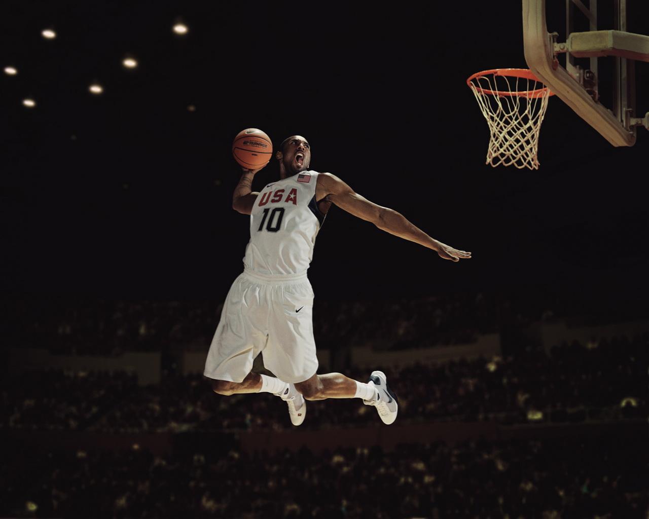 Kobe Bryant Wallpaper Dunk 18 1280x1024