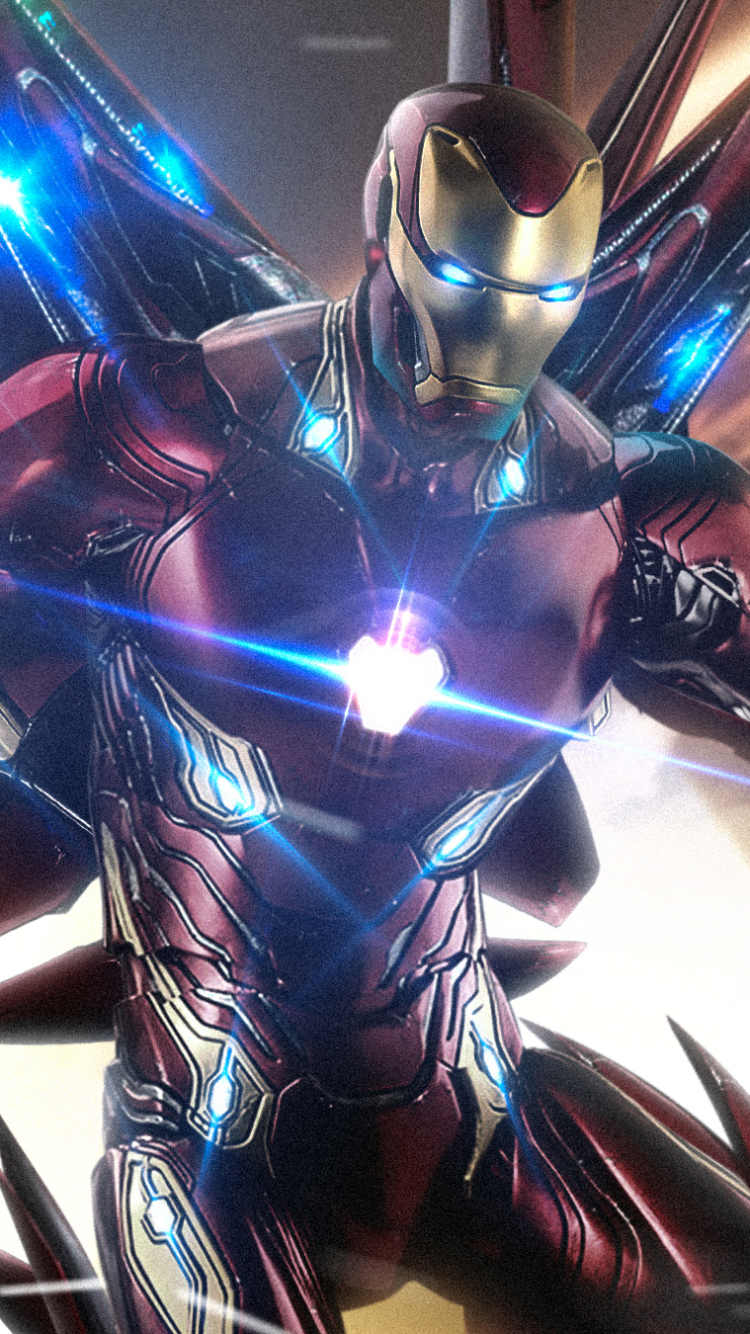 22 Avengers Endgame Iron Man Wallpapers On Wallpapersafari