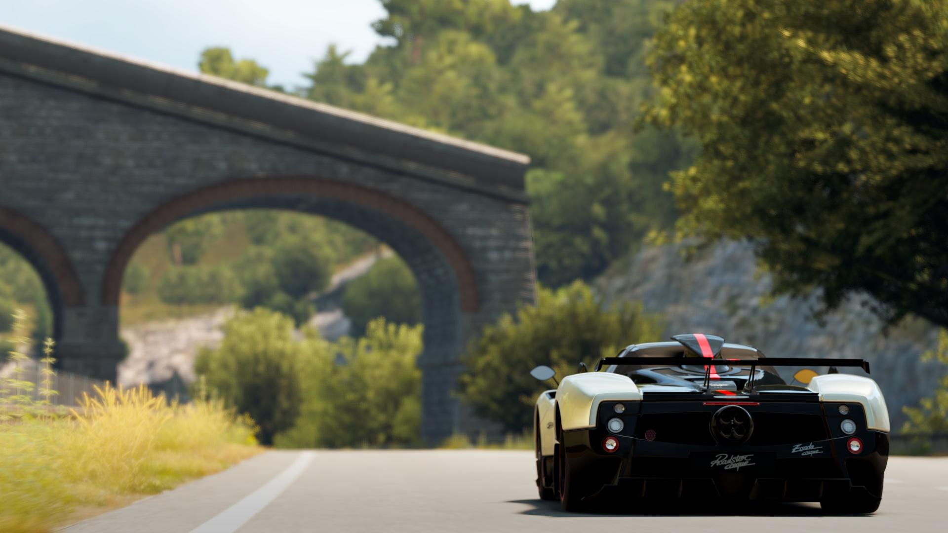Forza Horizon 2 Wallpaper 1080p Pagani Zonda Cinque Roadster 1920x1080